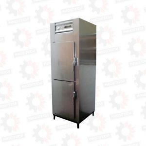 Refrigeradora vertical conservadora 2 puertas