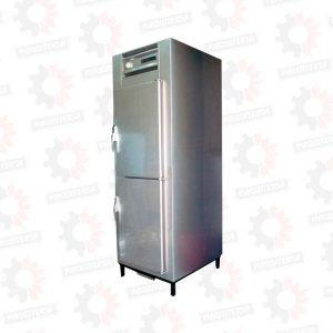 Refrigeradora vertical congeladora 2 puertas