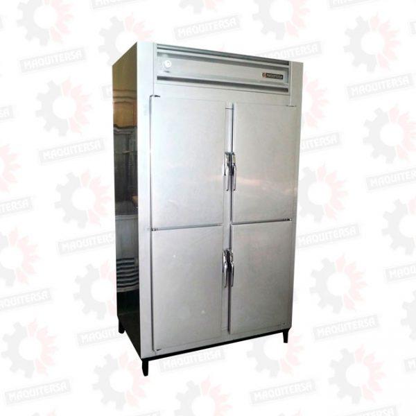 Refrigeradora congeladora vertical 4 puertas