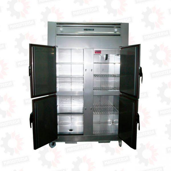 Refrigeradora vertical mixta 4 puertas